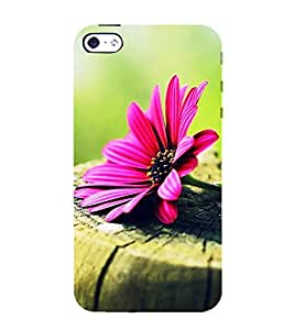 Fabcase Flower Abstract Designer Back Case Cover for Apple iPhone 4