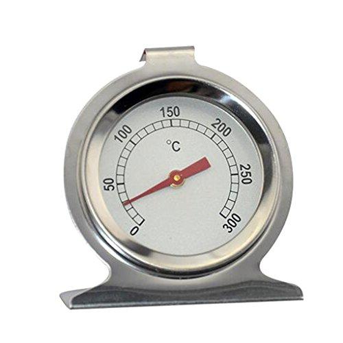 Sharplace Thermomètre du Four Polymère Argile Stéréotypes Acier Inoxydable Argenté Outil De Cuisson Cadeau Anniversaire Noël Fête