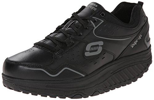 Skechers2.0 Perfect Comfort - Scarpe Sportive Outdoor donna, Nero (Nero (Bbk)), 37 EU