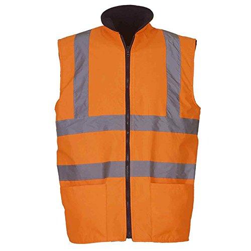 yoko-mens-hi-vis-reversible-fleece-bodywarmer-hv008f-lightweight-waterproof-pu-coated-polyester-fabr