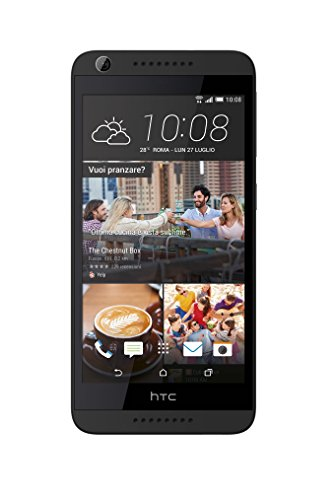 HTC Desire 626 Smartphone débloqué 4G (Ecran: 5 pouces - 16 Go - Simple Nano-SIM - Android 5.1 Lollipop) Anthracite (Dark/Middle Grey)