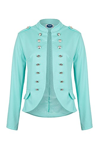 Massimo Military Blazer mint slim fit, Gr.L (Mint Blazer)