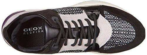 Geox D OMAYA A Damen Sneakers Schwarz (C9999BLACK)