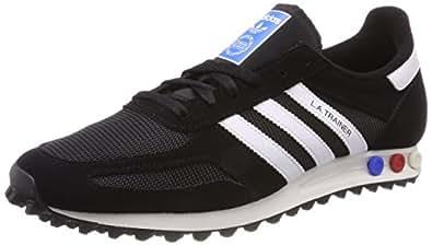adidas Herren LA Trainer Fitnessschuhe, Schwarz (Negbas/Ftwbla / Blacla 000), 39 1/3 EU