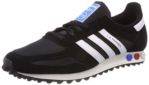 adidas Herren LA Trainer Fitnessschuhe, Schwarz (Negbas/Ftwbla/Blacla 000), 40 - Adidas Klassiker Schuhe