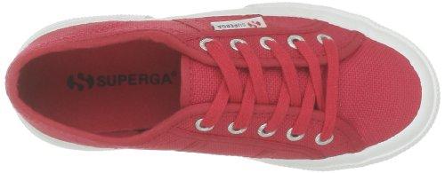 Superga 2750-Jcot Classic S0003C0 Unisex - Kinder Halbschuhe Rot (C62 Maroon Red)