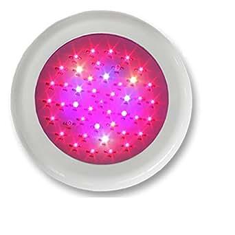Green House-UFO LED-Lampe für das Pflanzenwachstum 135W 2bands Schale Weiß