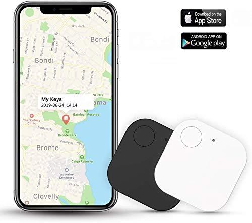 Sensor inal/ámbrico Localizador de Llaves GPS con rastreador Inteligente y Bluetooth Llavero antip/érdida Sensor de Alarma Yongkaida 4 Unidades quare Selfie Cuatro Colores Mando a Distancia