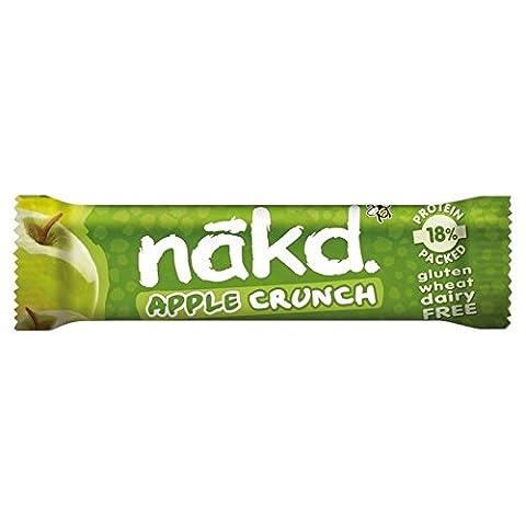 Nakd Gratuit D'Apple Crunch Fruits & Noix Bar 30G - Paquet de 6