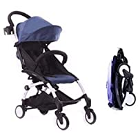Baby Time Baby Stroller - Blue