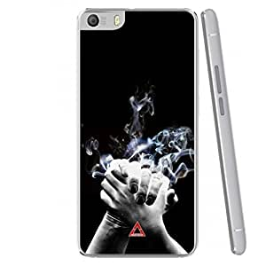 a AND b Designer Printed Mobile Back Case / Back Cover For Micromax Canvas Fire 4 A107 (MIC_A107_3444)