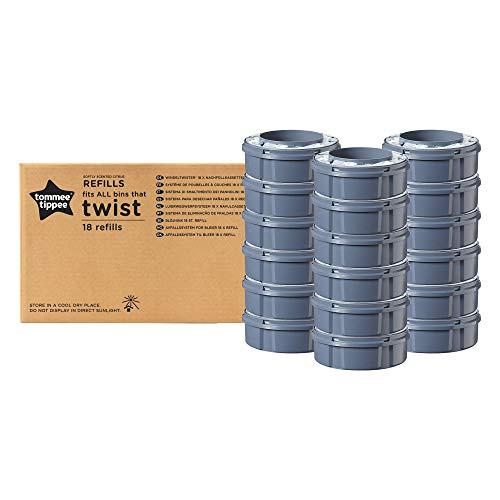 Tommee Tippee - Weiterentwickeltes Windelentsorgungssystem Sangenic Nachfüllkassetten