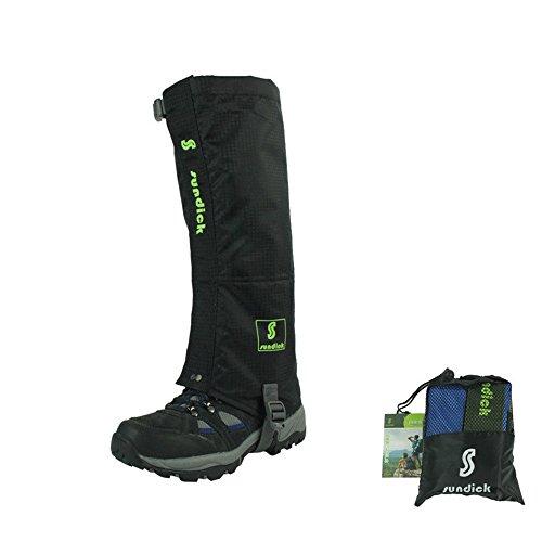 sundick-alpinismo-snowproof-mothproof-ghette-traspirante-ghette-da-neve-legging-ghette-impermeabili-