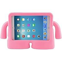 Para iPad Mini Case, para iPad mini1/2/3/4 Funda, niños de alta calidad a prueba de golpes a prueba de golpes con función de atril funda de espuma EVA