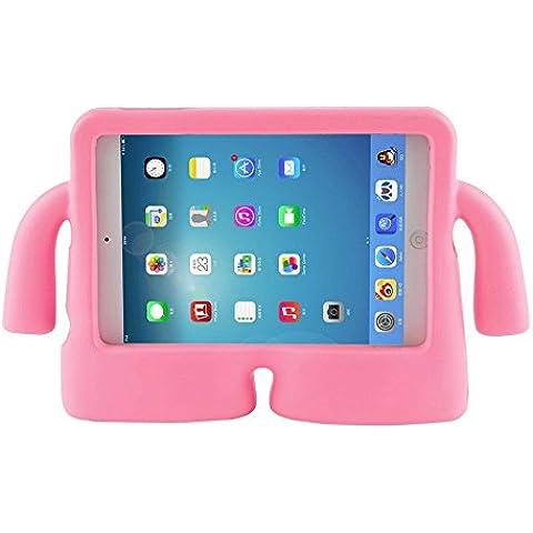 Para iPad Mini Case, para iPad mini1/2/3/4 Funda, niños de alta calidad a prueba de golpes a prueba de golpes con función de atril funda de espuma