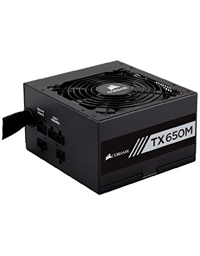 Corsair (CP-9020132-EU) TXM Series TX650M ATX/EPS Modulaire 80 plus Gold 650W Alimentation PC