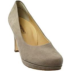 Paul Green | Damen Pumps - grau | rosewood, Farbe:grau;Größe:35.5