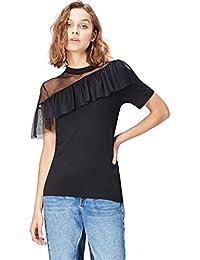 FIND T-shirt con Rouche Donna
