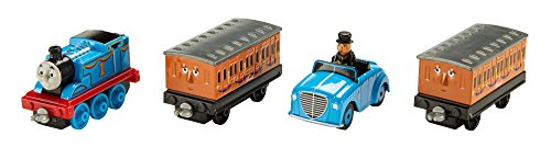 Thomas & Friends DXT80 Sodor Celebration Engine Multipack, Thomas the Tank Engine Toy Engines Adventures, Toy Train, 3 Year Old
