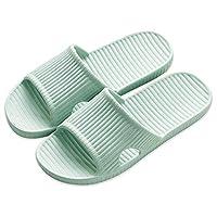 APIKA Bathroom Shower Anti-slip Slipper for women (Green 38/39)