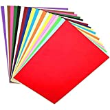 OFIXO 100 Pieces A4 Color Paper (10 Sheets of Each Color) for Art and Craft/Printing Purpose Multi Color Paper Thin Paper 10