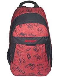 Wildcraft Jaunt EQ Polyester Red Casual Backpack(8903338018070)