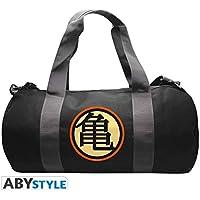 """ABYStyle - DRAGON BALL - Sac de sport """"Kame Symbol""""-Grey/Black"""