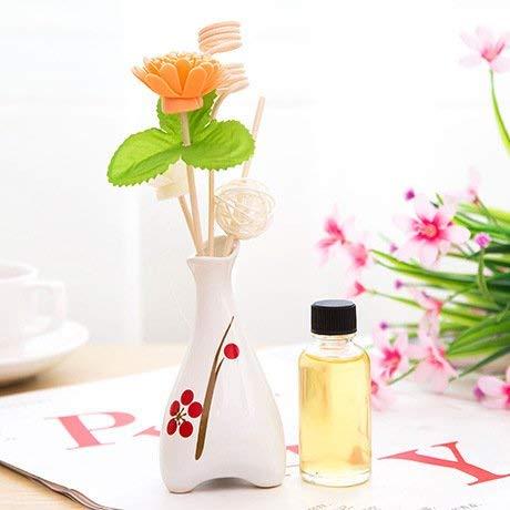 Yetta Home Home No Fire Rattan Stem Florals Geräucherte Schlafzimmer Zimmer Parfüm und Geruch Desodorierung des Kampfes, verpackt die Öl-Sachets Nice Packaging Lemon - Salz-sachet