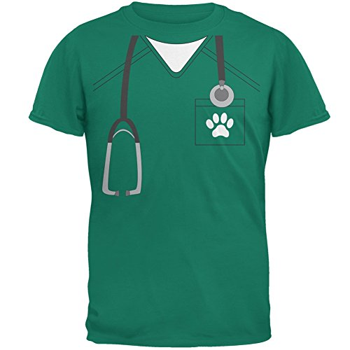 ierarzt Scrubs – Die Anfänger Kostüm Jade grün Erwachsenen T-Shirt - klein (Halloween-t-shirts Für Erwachsene)