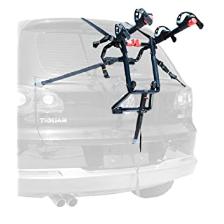 Allen Sports USA Premier 2-Bike Trunk Mounted Bicycle Carrier for Automobile - Black