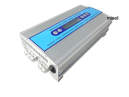 MISOL Hybrid Wind solar charge controller, Solar Charge Controller, wind regulator, 12V 24V wind charge controller/Hybrid Wind Solarladeregler, Solarladeregler, Windregler, 12V 24V Windladeregler -