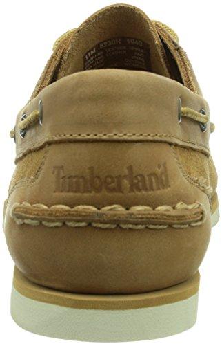 Timberland Classic Boat Dark Br Brown, Mocassins femme Beige