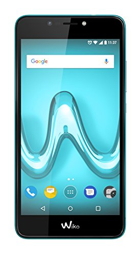"""Wiko Tommy2 Plus Dual SIM 4G 16GB Turquoise - Smartphones (14 cm (5.5""""), 16 GB, 13 MP, Android, 7.1, Turquoise)"""