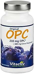 OPC Traubenkernextrakt mit 105mg echtem OPC pro Kapsel - Das stärkste Anti-Oxidant der Welt in Höchstdosierung. Unschlagbar günstig (100 OPC Kapseln für 50-100 Tage)