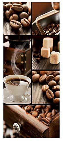 i.stHOME Textilbanner Kaffeegenuss - Kaffee Arabica - Deko Bild - Banner 75x180