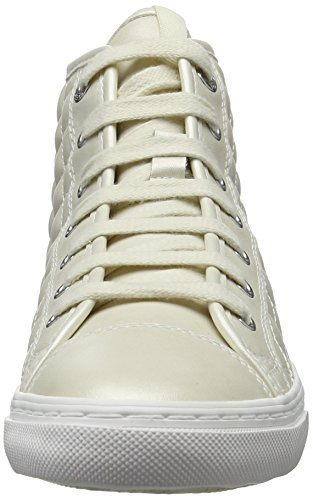 Geox Damen D New Club A High-Top Weiß (whitec1000)