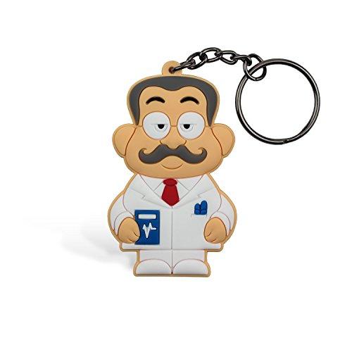 Medico uomo portachiavi, wannabe, portachiave, portachiavi uomo, ideale come decorazione per personalizzare zaino, borsa, perfetto regalo/pensiero regalo per bambini