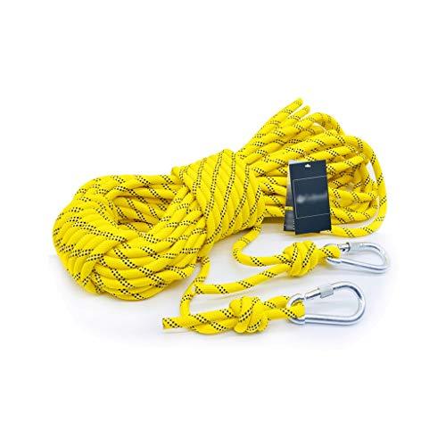 QSJY Climbing Ropes Cuerda Escalada Roca 8 mm Seguridad