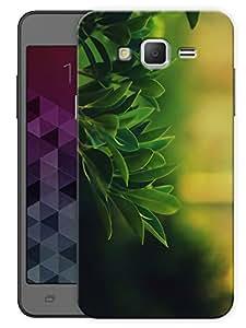 "Humor Gang Green Leaves Printed Designer Mobile Back Cover For ""Samsung Galaxy Mega 5.8"" (3D, Matte Finish, Premium Quality, Protective Snap On Slim Hard Phone Case, Multi Color)"