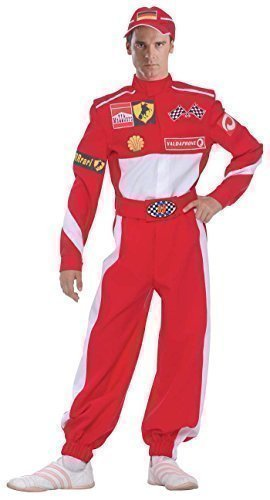 ahrer Sport Kostüm Kleid Outfit (Rennfahrer Kostüm)
