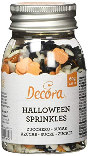 2080330 DECORA ZUCKER SPRINKLES HALLOWEEN 60 G (Halloween Cupcakes Selbstgemacht)