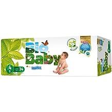 Pañales Bio Baby talla 4 (9-13 kg) 34uds eco