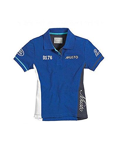 MustoMädchen Poloshirt Blau - Königsblau