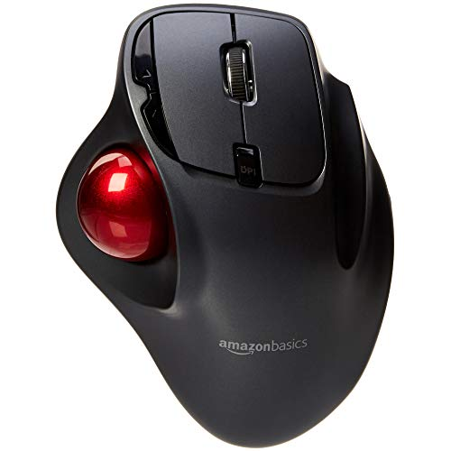 AmazonBasics - Kabellose Trackball-Maus