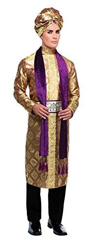 Bristol Novelty AC232 Bollywood Kostüm, Mehrfarbig, 42-44-Inch, (Herstellergröße 54)