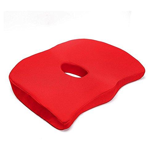 Auto Sitzkissen Winter Warm Atmungsaktive Memory Foam Auto Sitzkissen Komfortable Erhöhte Anti-Slip Kissen Ohne Rückenlehne