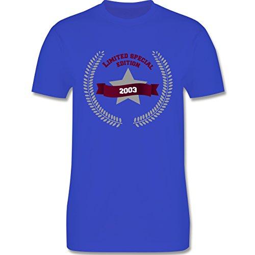 Geburtstag - 2003 Limited Special Edition - Herren Premium T-Shirt Royalblau