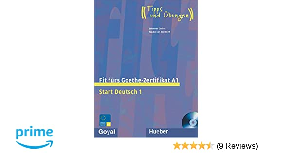 Buy Fit Fur Goethe - Zertifikat A1 (Start Deutsch 1) Book Online at