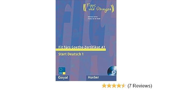 Buy Fit Fur Goethe Zertifikat A1 Start Deutsch 1 Book Online At