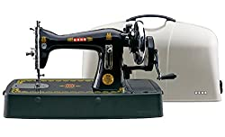 USHA Bandhan Sewing Machine With Plastic Base & Cover